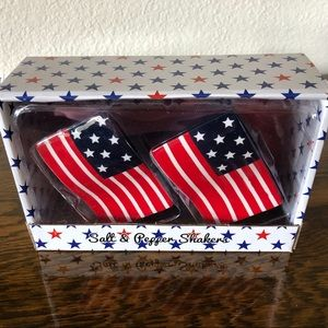 Other - NIB 4th of July Flag Salt & Pepper Shakers